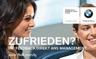iFeedback Zufriedenheitskarte