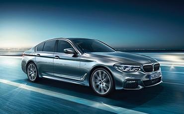 BMW 5er auf Straße