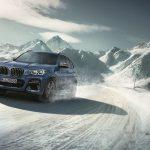 BMW X3 im Schnee