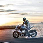 BMW HP4 Burnout