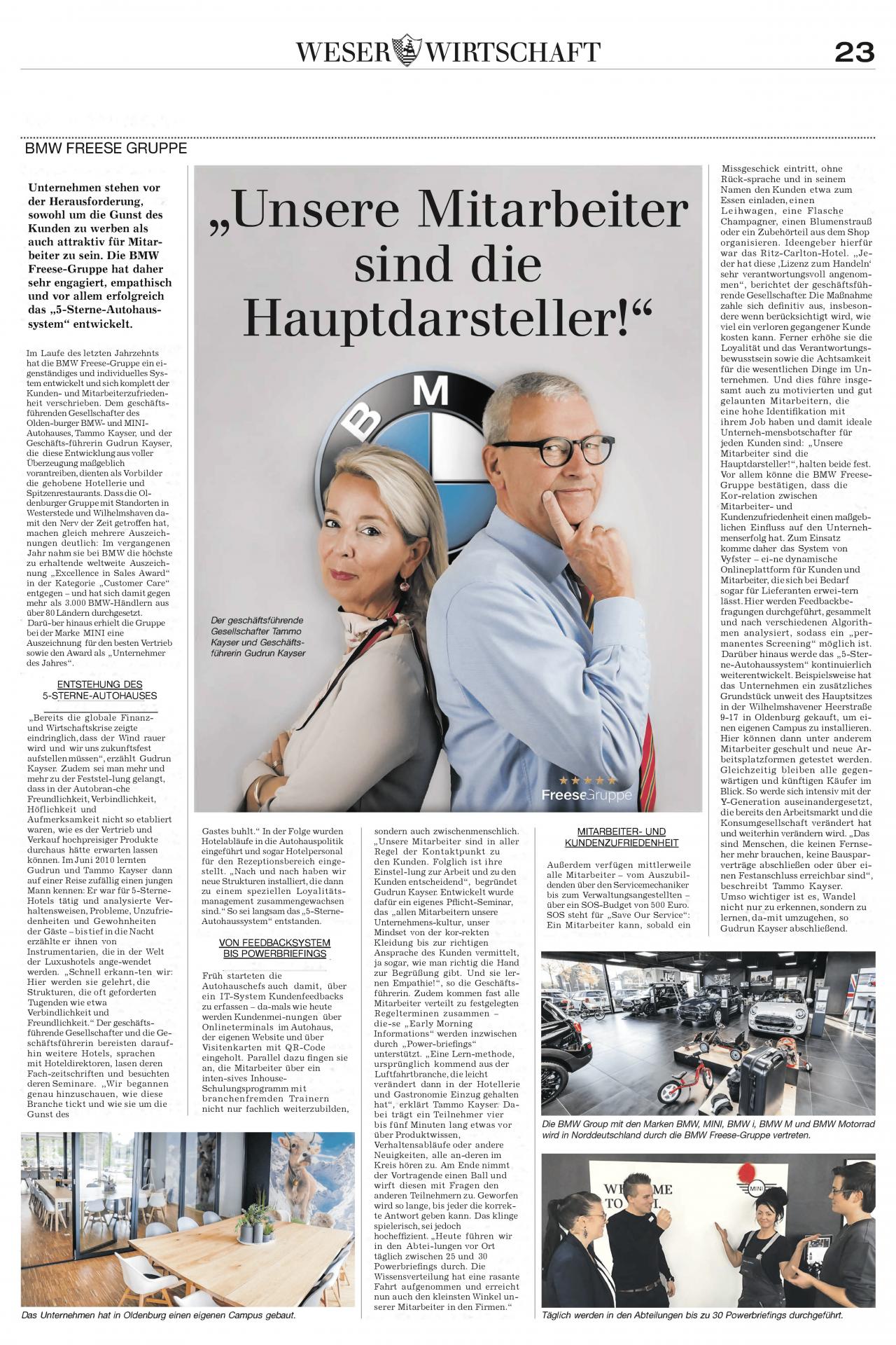 Weser Wirtschaft Mehr Platz neu