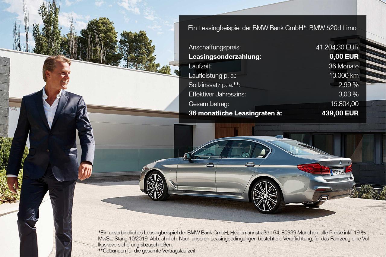 BMW Freese 5er Leasing Kalkulation