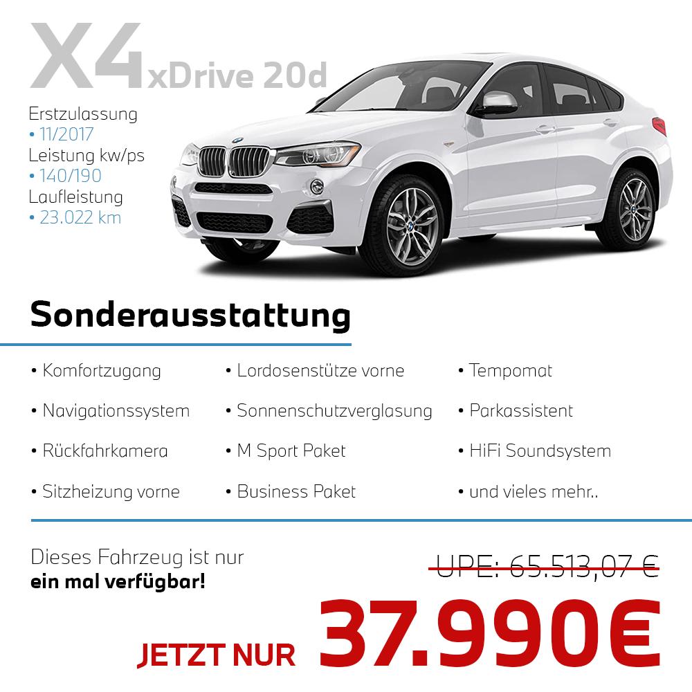 Angebot des Tages BMW X4