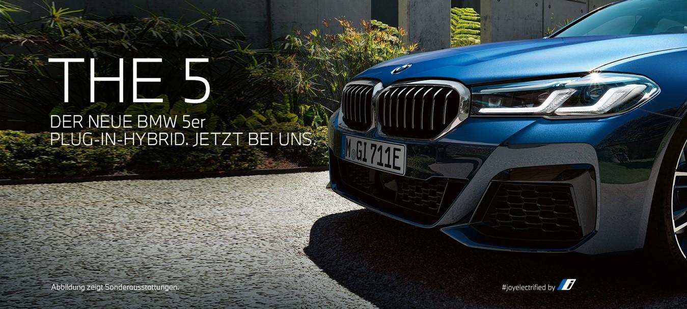 The 5 - BMW 5er PHEV
